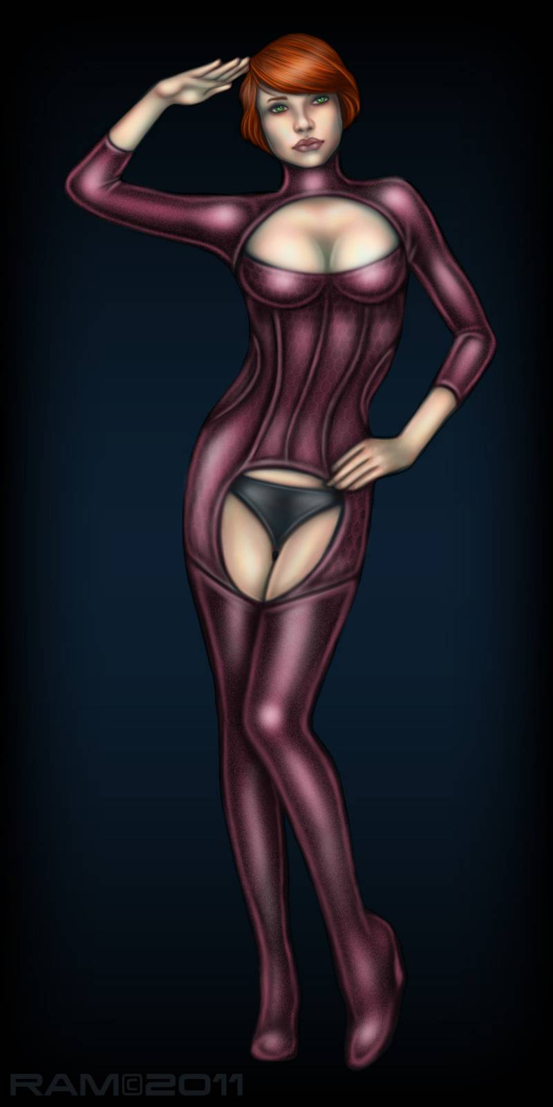 Mass effect 2 - nude kelly hentai photo